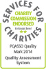 Charity 2* Quality Standard logo